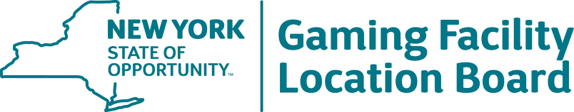 Gaming Facility Location Board Logo